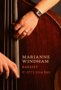 Marianne Windham Jazz Bass